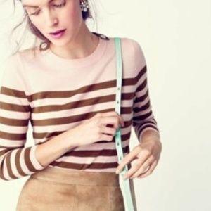 J.Crew | Tippi shoulder buttons merino sweater